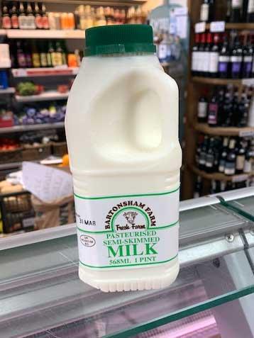 1 pint (568ml) milk 1