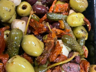 Antipasti-Olives