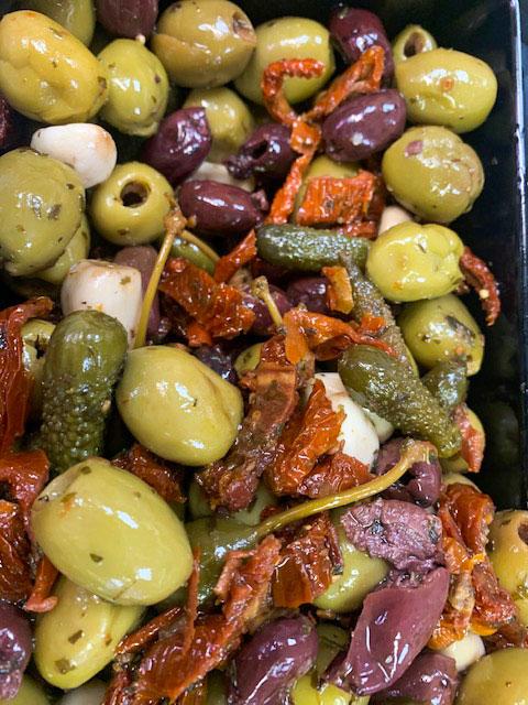 Antipasti-Olives