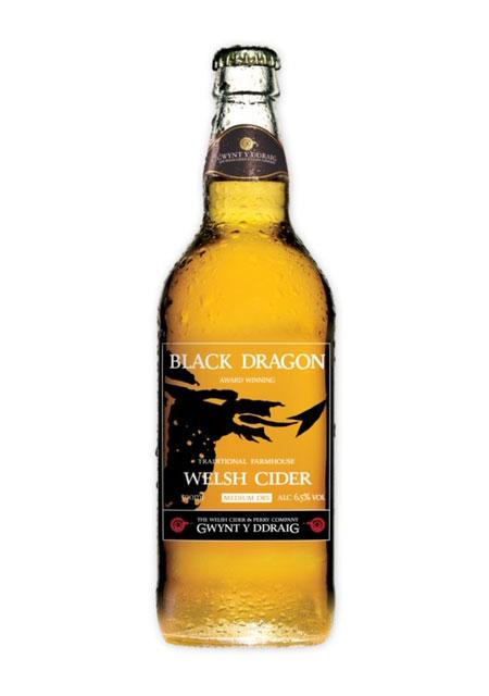 Gwynt y Ddraig Black Dragon Cider (500ml) 2