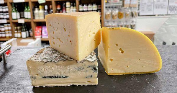October artisan cheese selection