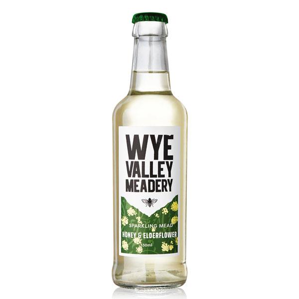 Wye Valley Meadery Honey & Elderflower Sparkling Mead (330ml) 2