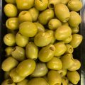 Green Pitted Olives 1