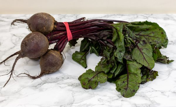 Bunched beetroot 1