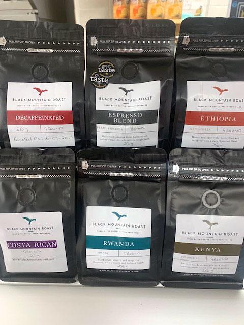 Black Mountain Roast ground coffee 1