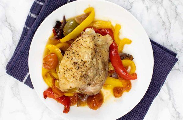 Free-range chicken thighs x 4 (600g) 2