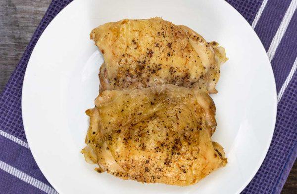 Free-range boneless chicken thighs x 4 (500g) 2