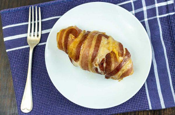 chicken escalope bacon wrapped