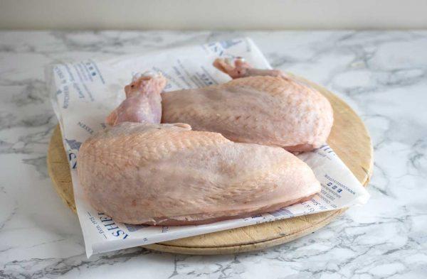 Free-range chicken supremes x 2 (600g) 1