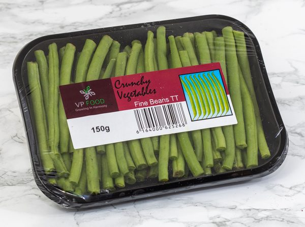 Trimmed French beans