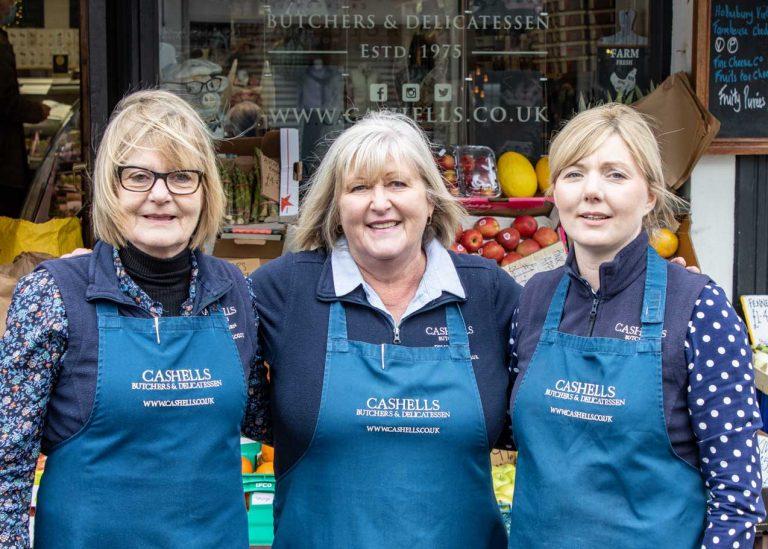 Staff at Cashells
