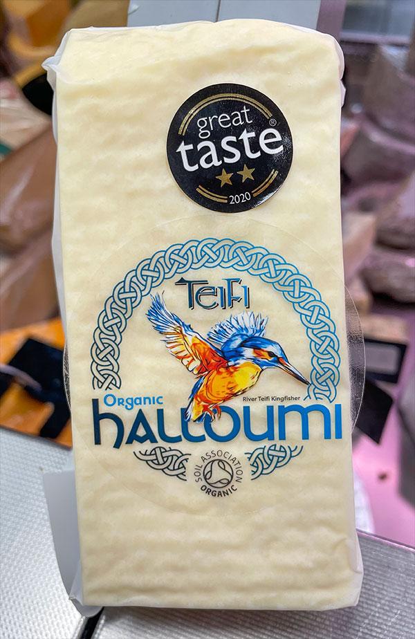 Teifi Organic Halloumi (min. 200g) 1