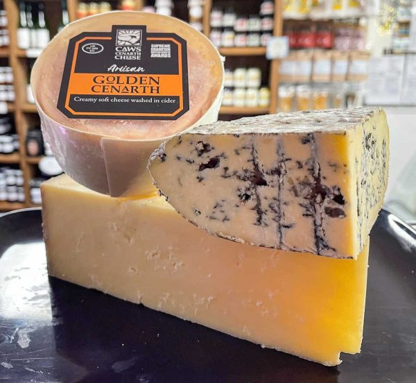 June cheese selection