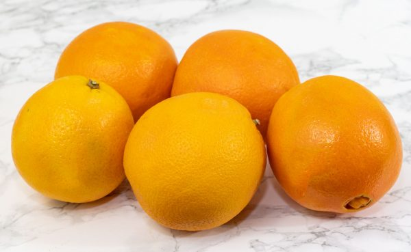 Large oranges