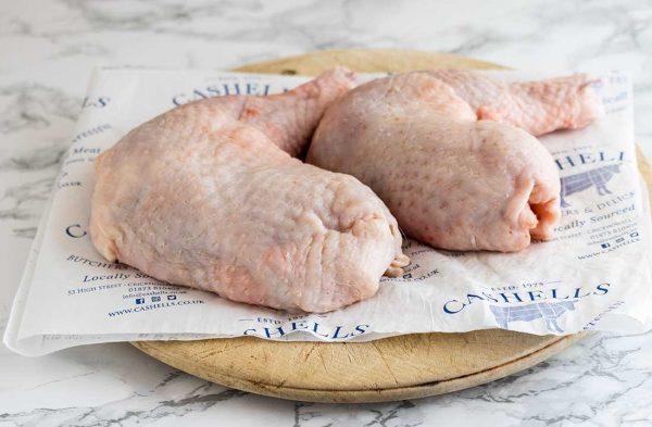 Free-range chicken legs x 2 (550g) 2