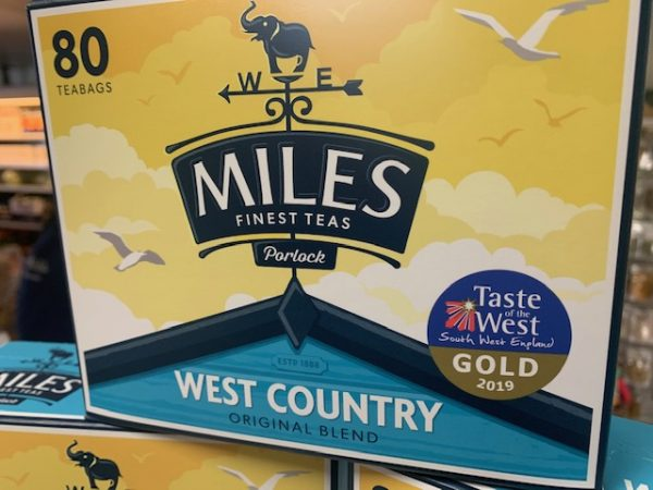 Miles West Country Original Teabags (80 teabags, 250g) 1