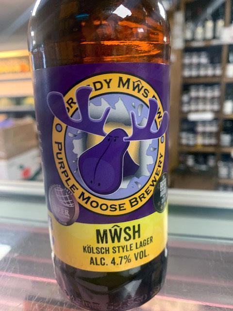 Purple Moose Mŵsh Kölsch-style lager (330ml) 2