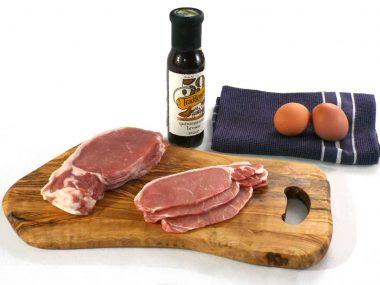 plain shortback bacon