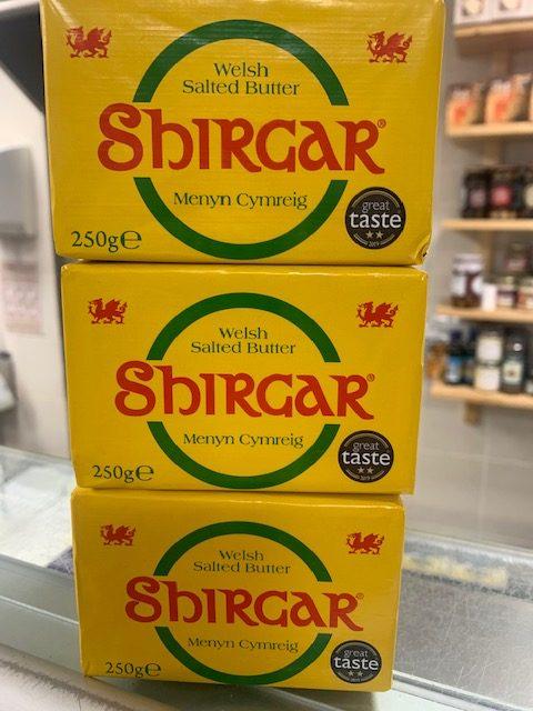 Shirgar Welsh Salted Butter (250g) 1