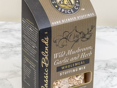 Shropshire Spice Co. wild mushroom garlic & herb stuffing mix