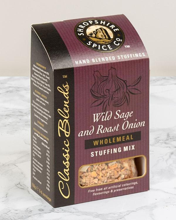 Wild Sage and Roast Onion Wholemeal Stuffing Mix (150g) 1