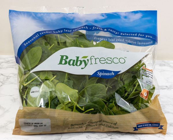 Baby spinach (200g) 1
