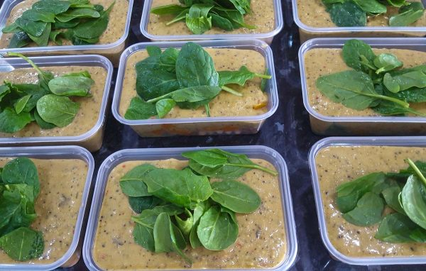 Vegan Thai Green Curry with Roasted Butternut Squash, Chickpeas, Lentils & Spinach (650g) 1