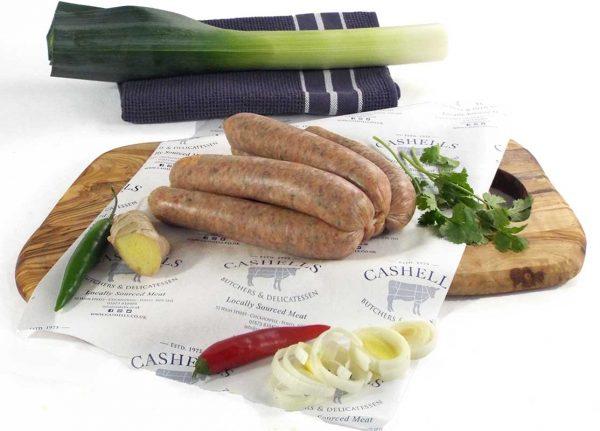 welsh dragon sausages
