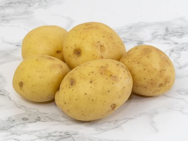 Scrubbed Salad Potatoes