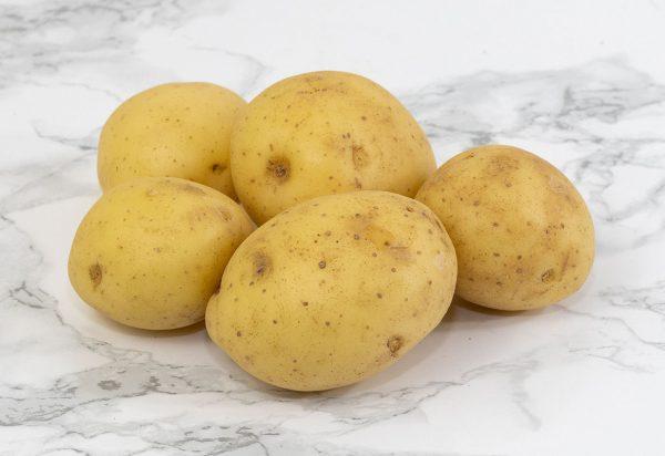 Scrubbed Salad Potatoes